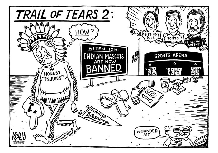 700x490 My Political Cartoon About The Trail Of Tears