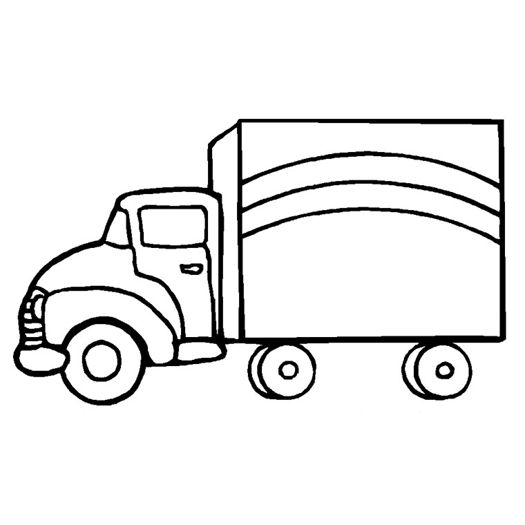 Trailer Drawing At Getdrawings Com Free For Personal Use