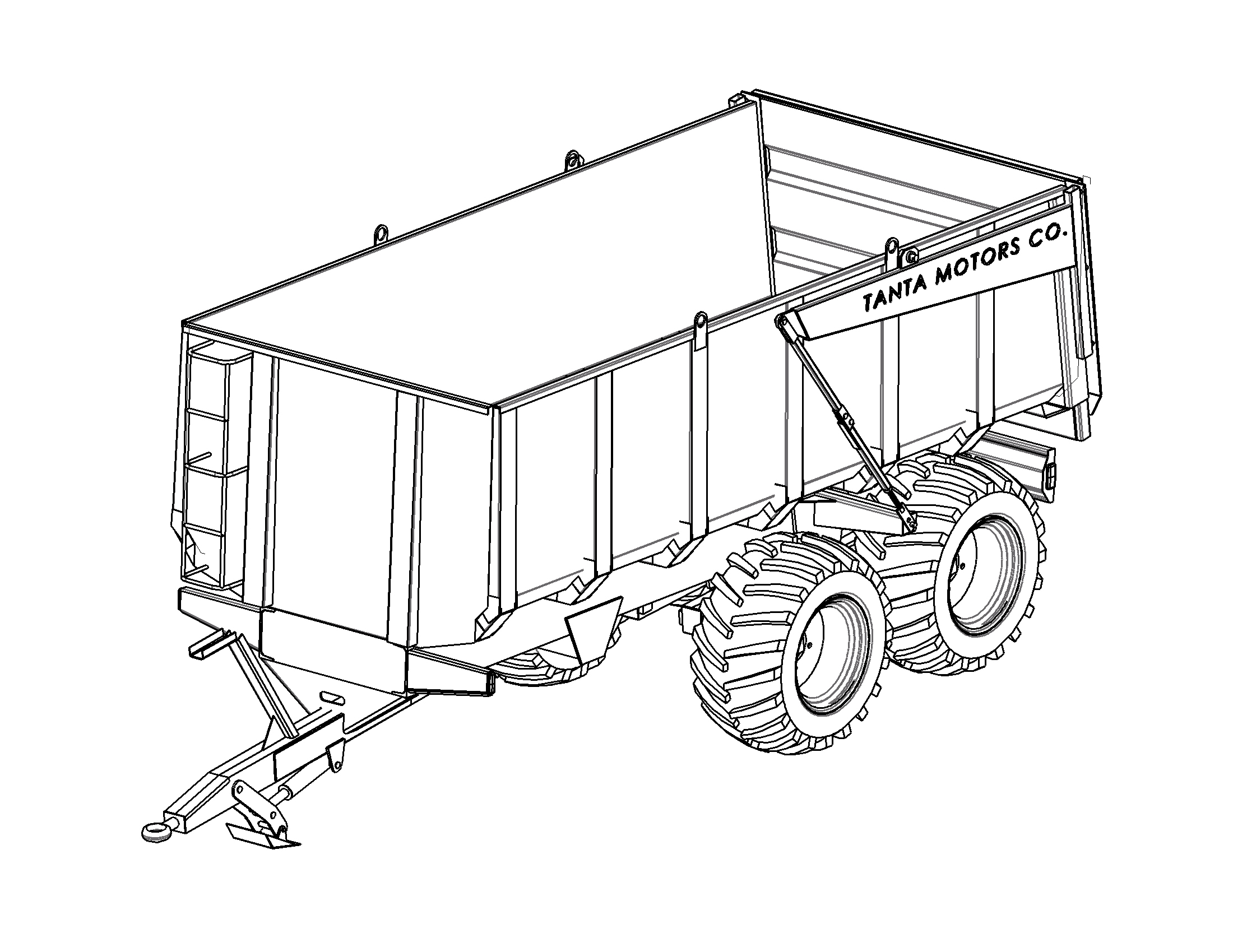 trailer drawing at getdrawings com