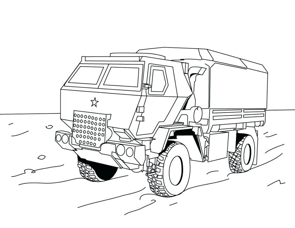940x727 Semi Truck Coloring Pages Free Printable Truck Coloring Pages