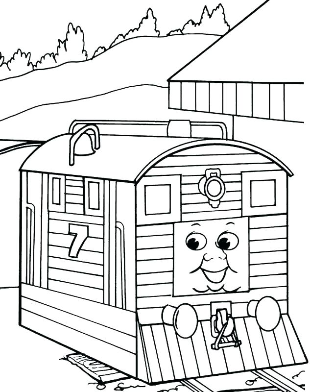 633x800 Coloring Page Train Train Coloring Pages Coloring Pages Trains