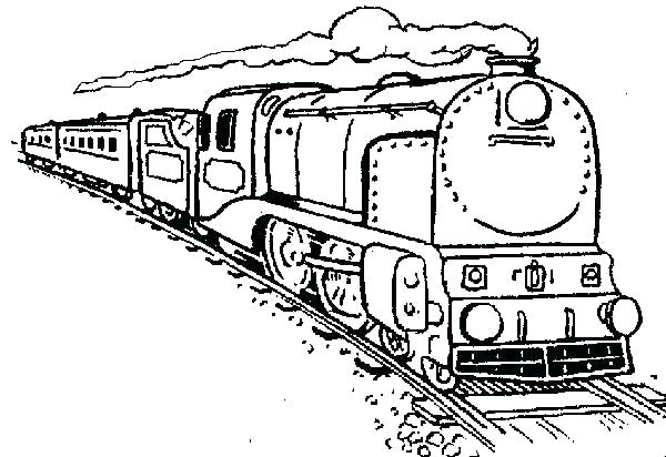 600x412 Freight Train Coloring Pages Coloring Pages Trains Freight Train