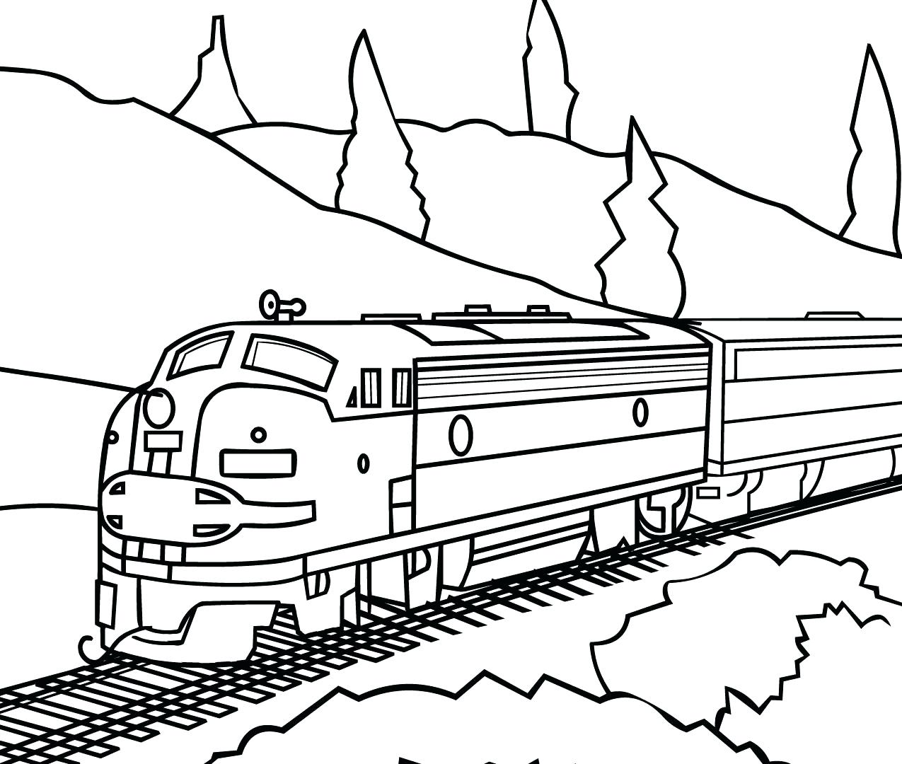 Train Caboose Drawing at GetDrawings.com | Free for personal use ...