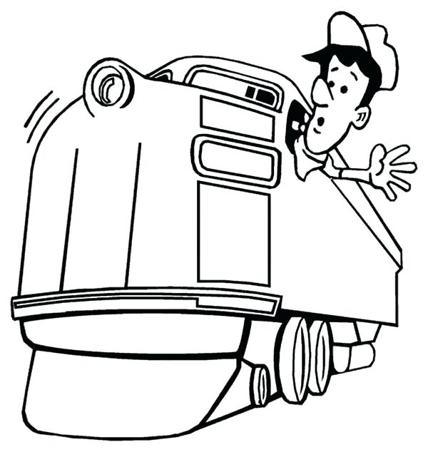 600x634 Coloring Page Train Best Collection Coloring Pages