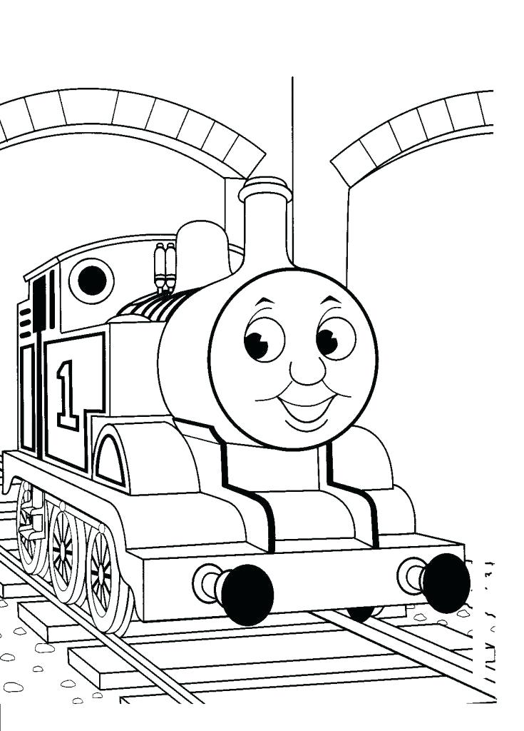 735x1024 Free Coloring Pages Of The Train Cartoon Thomas Tank Engine