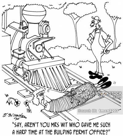 400x444 Train Tracks Cartoons And Comics
