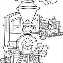 220x220 Maggie The Train Conductor Coloring Pages