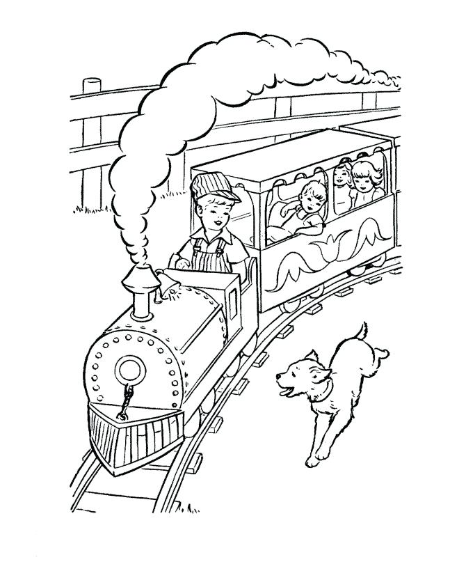 670x820 Train And Engineer Coloring Page Train Coloring Pages Train