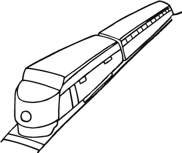 600x503 How To Draw A Train Coloring Page Color Luna