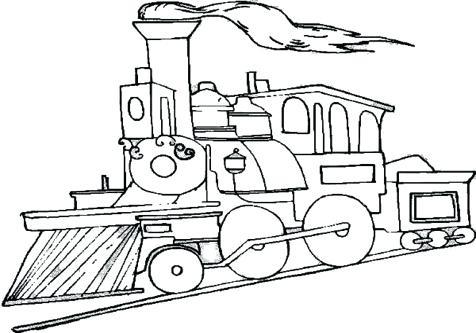Train Drawing At Getdrawings Com