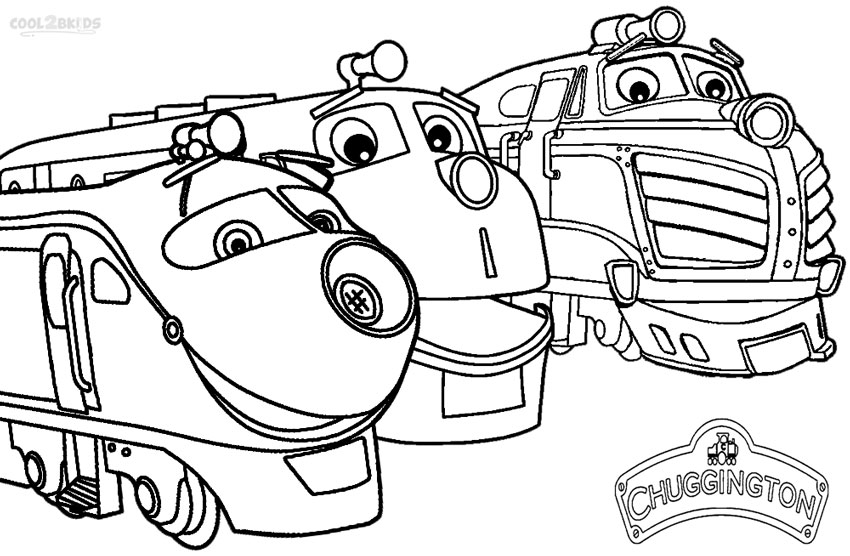 850x556 Printable Chuggington Coloring Pages For Kids Cool2bkids
