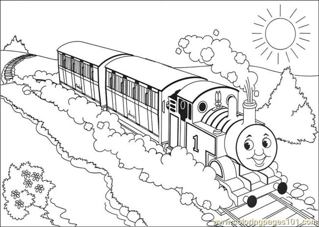 650x464 Terrific Thomas Train Coloring Pages 89 On Line Drawings