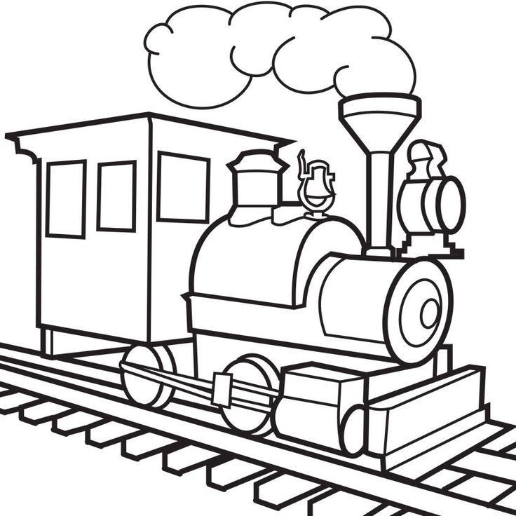 736x736 Train Drawing Group