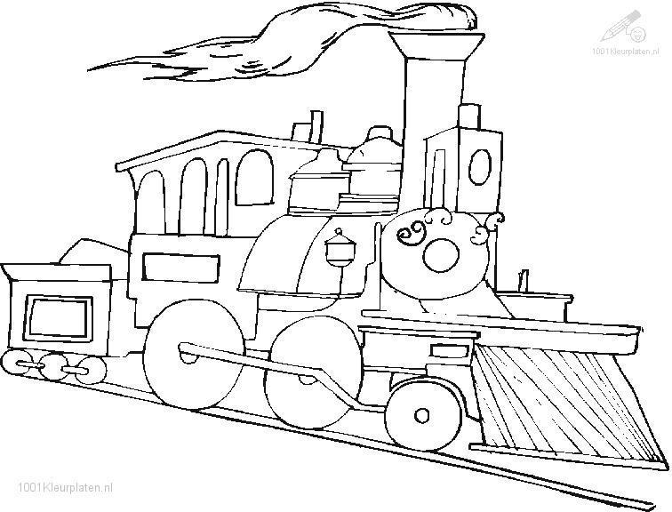 756x576 Coloring Pages Polar Train Express Bebo Pandco