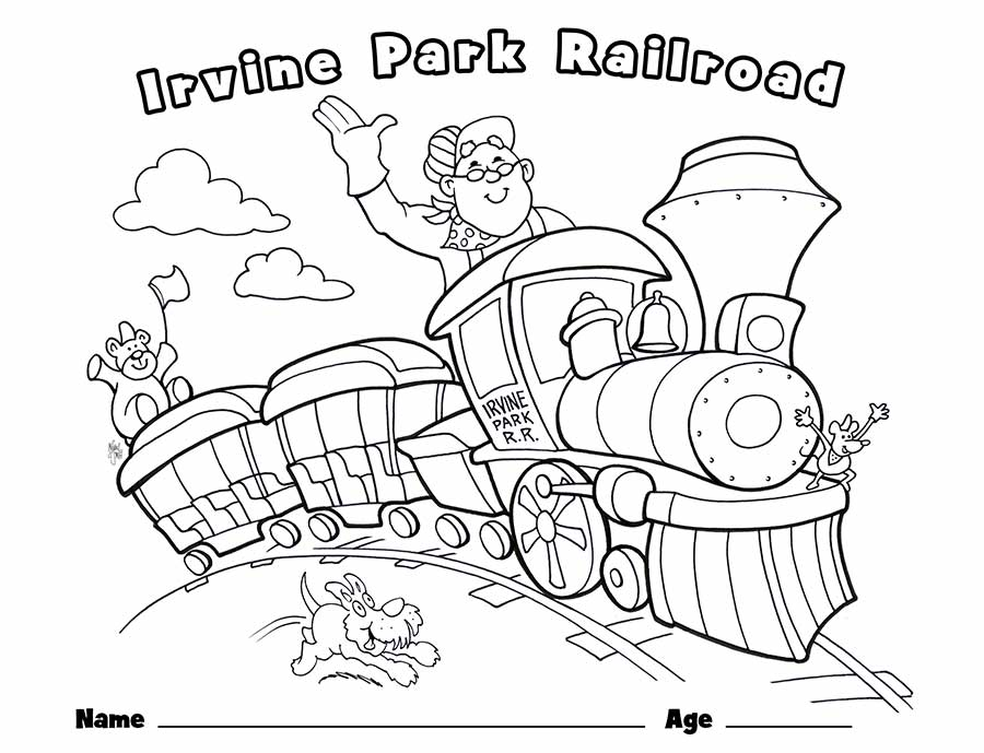 train coloring pages for preschoolers - train drawing for children at free for