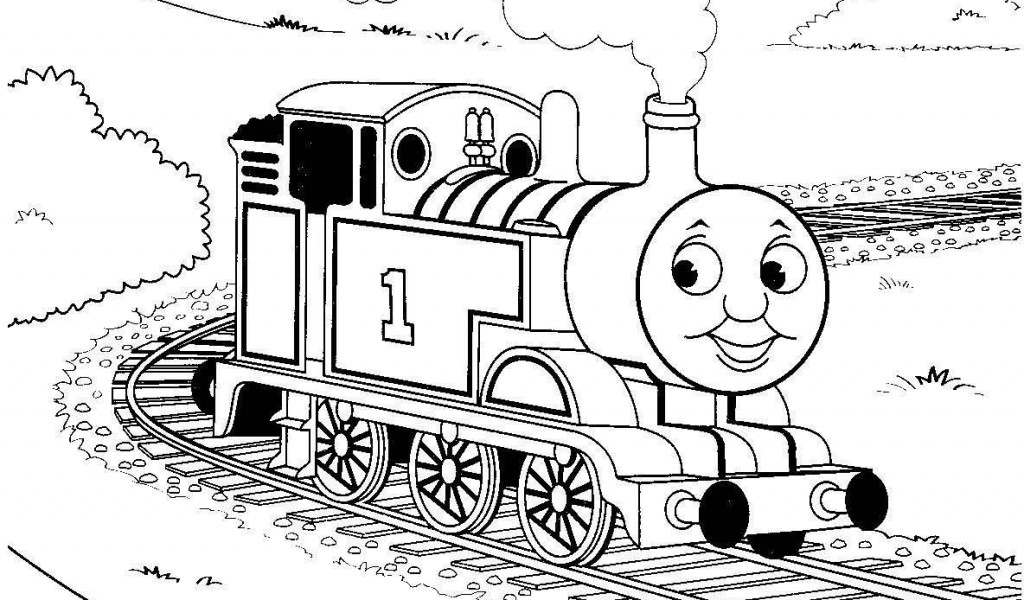 1024x600 Thomas The Train Printable Coloring Pages
