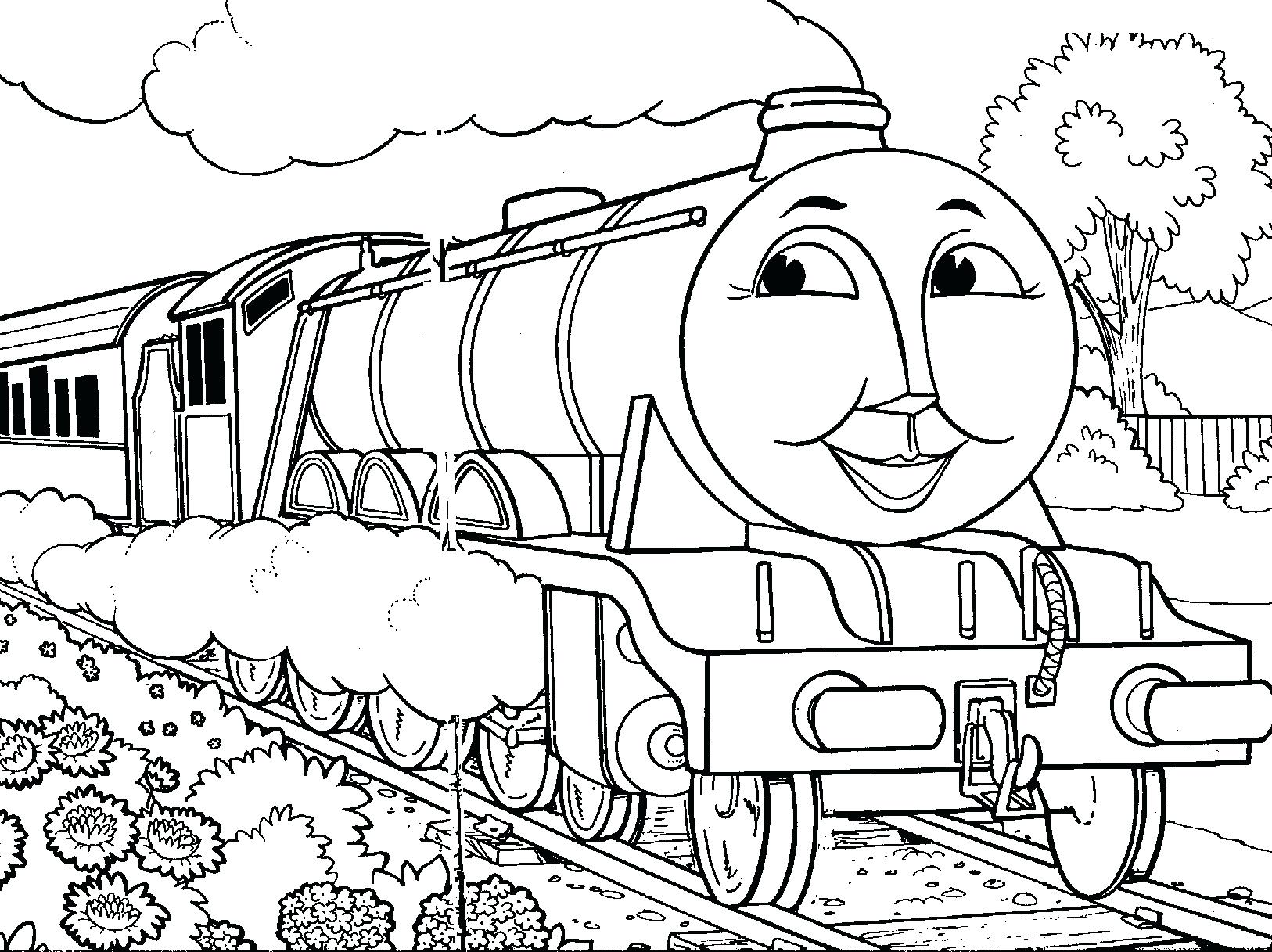 1626x1217 Coloring Thomas Train Coloring