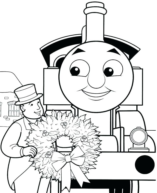 640x786 Thomas Coloring Picture The Train Coloring Pages Free Printable