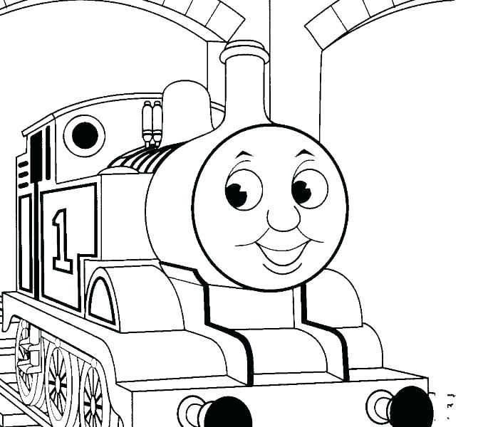 678x600 Thomas The Tank Coloring Pages The Train Coloring Pages The Train