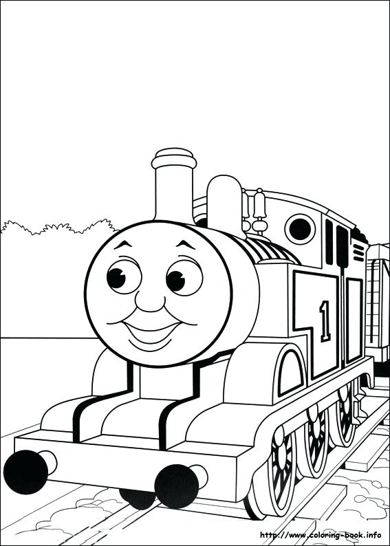 567x794 Thomas The Train Coloring Pictures The Train Printable Coloring