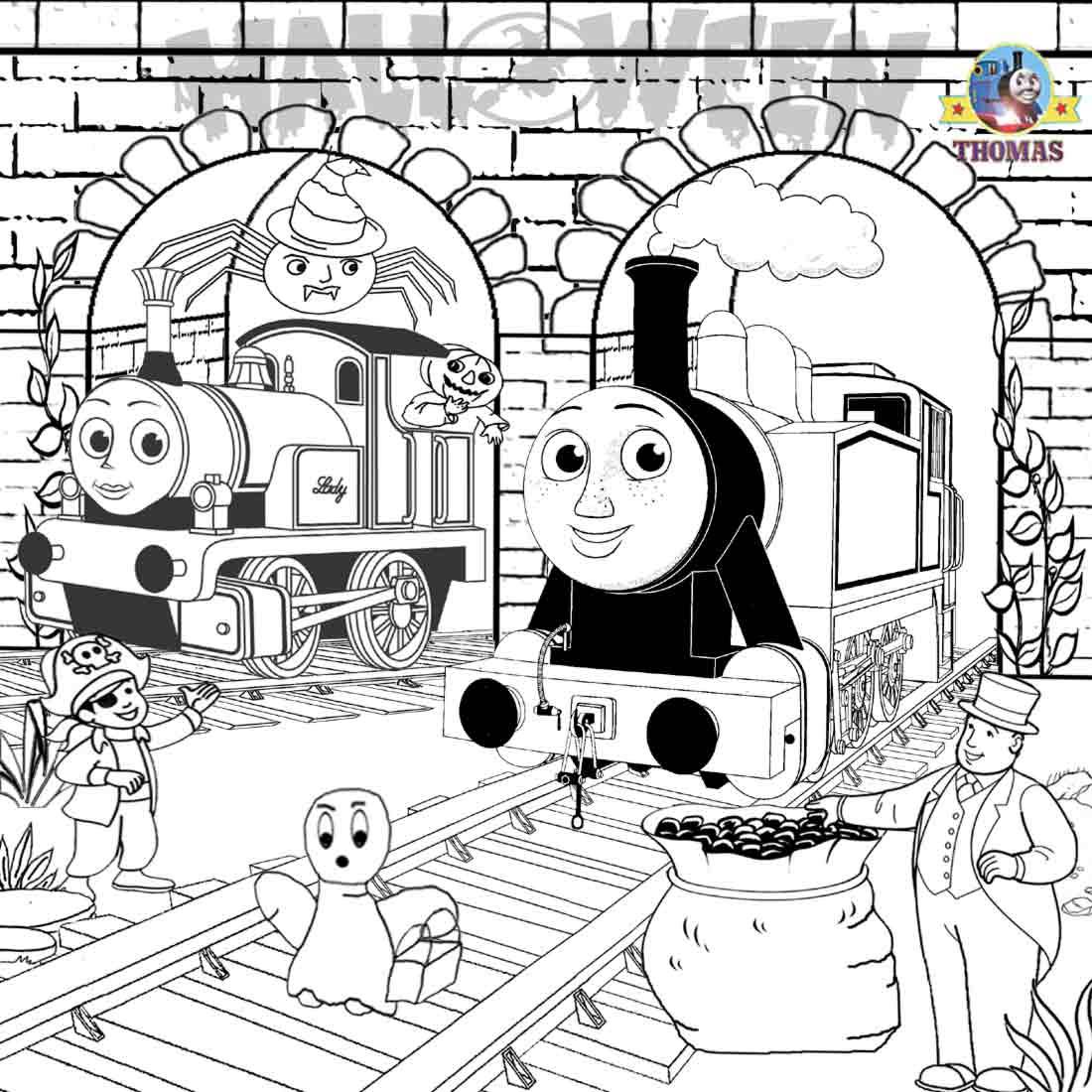 1100x1100 Thomas Train Halloween Worksheets For Kids Train Thomas
