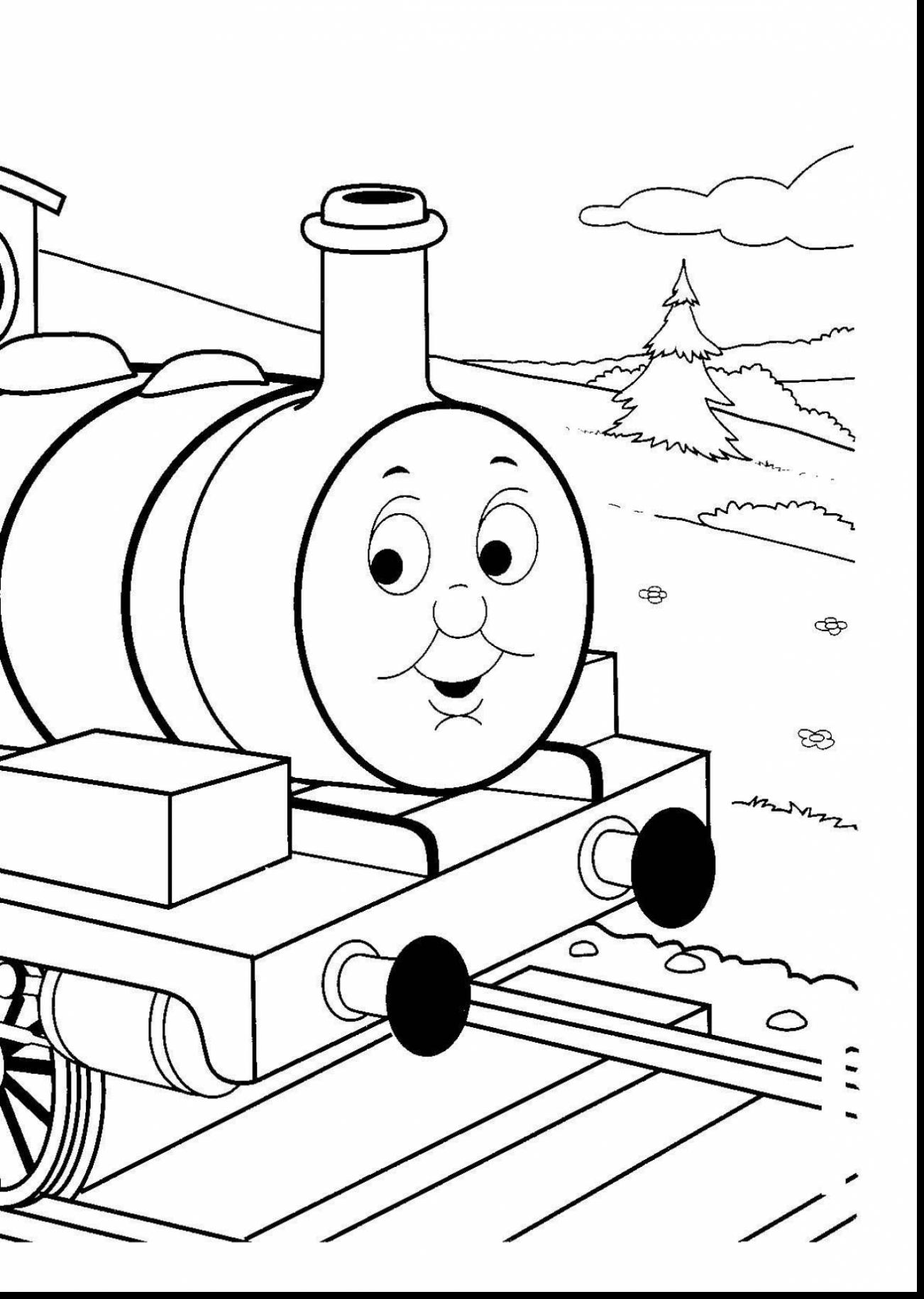 1302x1830 Amazing Thomas The Tank Engine Coloring Pages