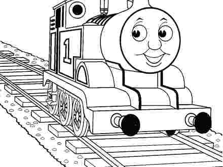 440x330 Gordon The Train Coloring Pages The Train Coloring Books Coloring