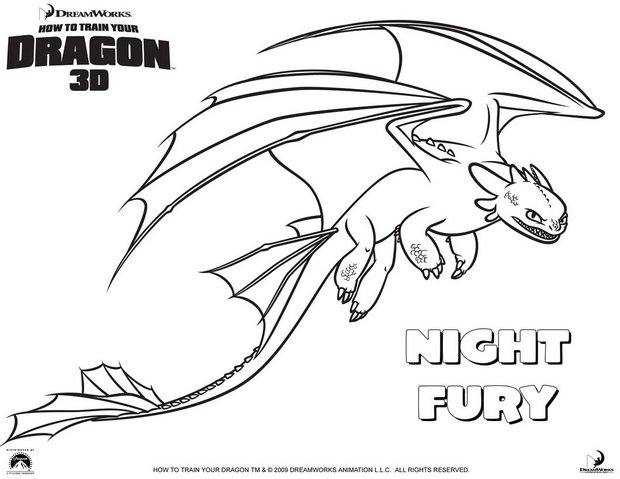 620x479 How To Train Your Dragon Coloring Pages, Videos For Kids, Daily