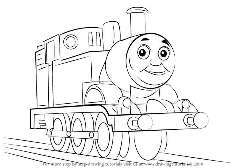 Train Drawing Images At Getdrawings Com