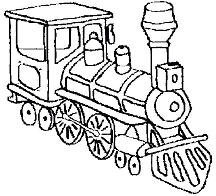 700x634 Old Train Drawing Simple