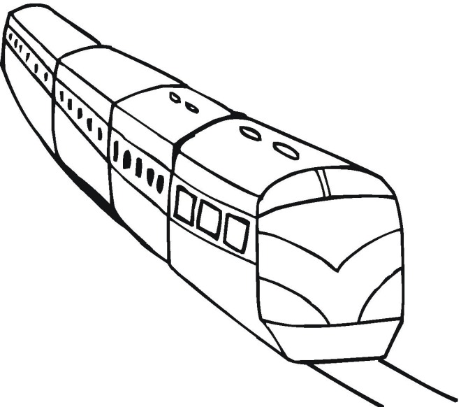 660x582 Train Coloring Pages