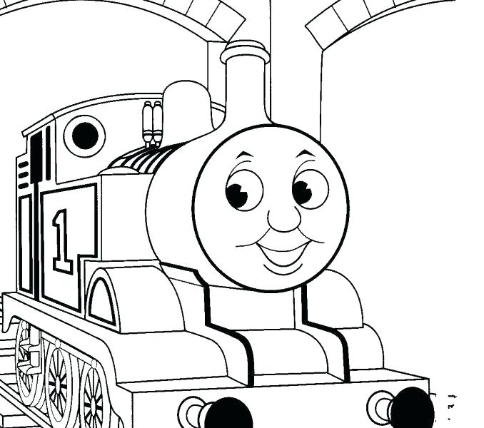 678x600 Thomas Coloring Pages Free The Tank Engine Coloring Book 2 Engine