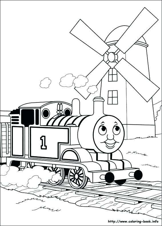 567x794 Thomas The Train Coloring Sheets Train Colouring Pages The Train