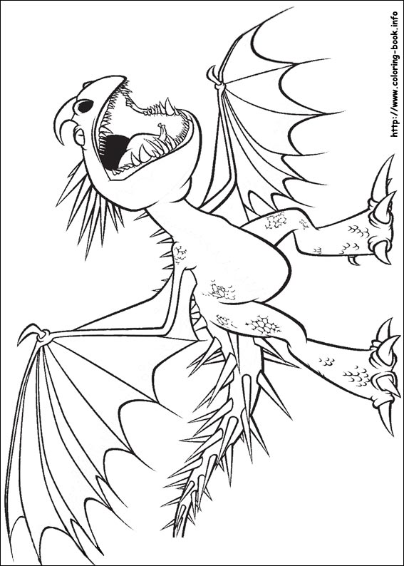 567x794 How To Train Your Dragon Coloring Pages Snazzy Page Draw