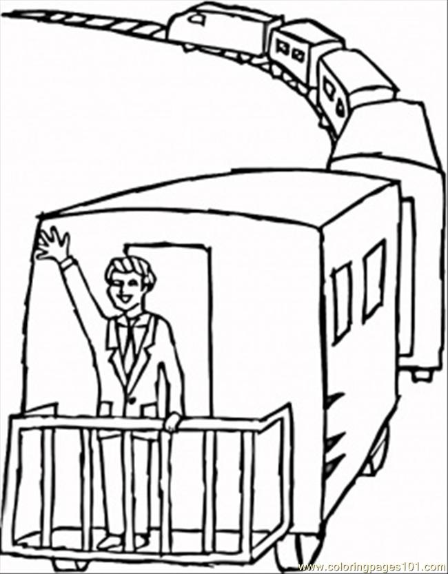 650x833 Train Caboose Coloring Pages 295686