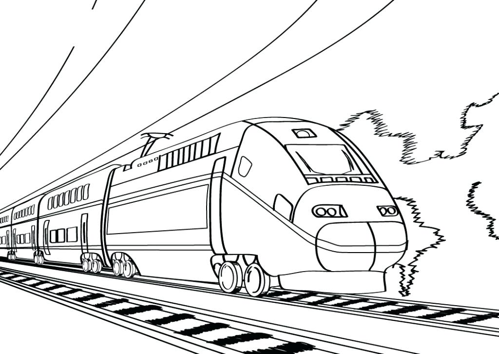 1024x726 Lego Train Coloring Pages For Train Coloring Pages Train Station