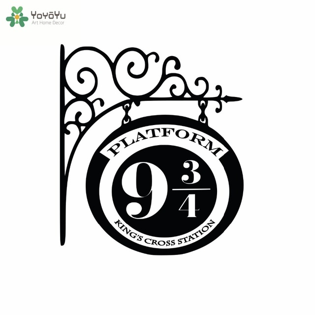 640x640 Classic Pattern Wall Decal Quotes Platform 9 34 Train Station