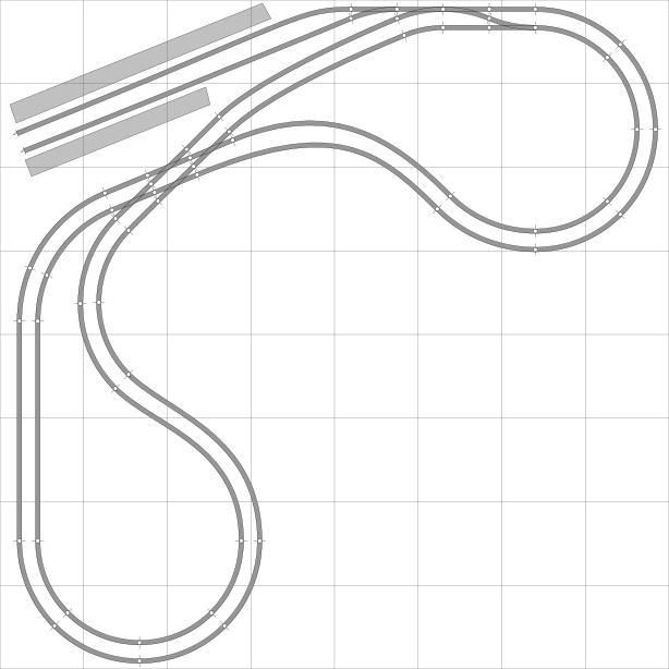 Train Track Drawing At Getdrawings Com