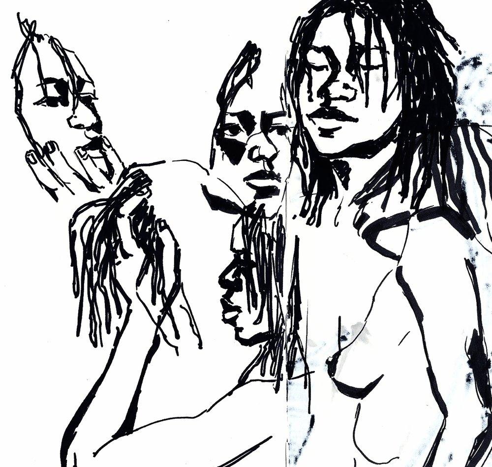 1000x949 Drawings I Lydia K Baker