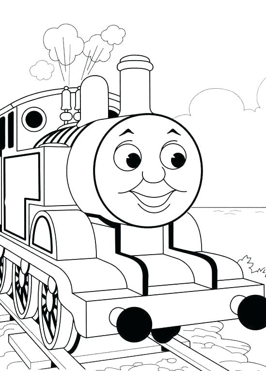 549x765 Luxury Train Printable Coloring Pages Online The To Print Image