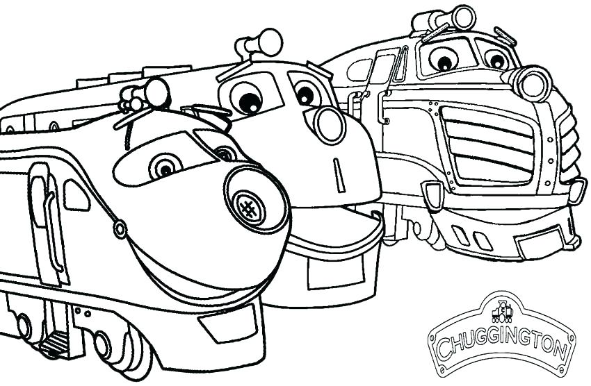 850x556 Coloring Pages Train