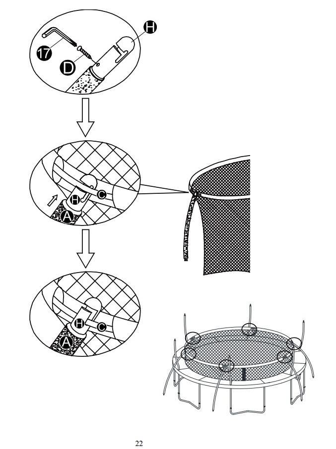 Trampoline Drawing
