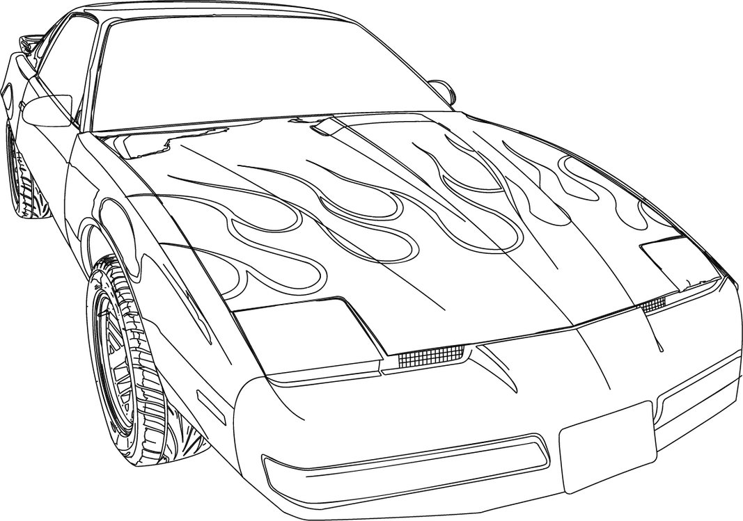 1067x749 Firebird Formula 350 Illustration V4 By Legendarysuperman