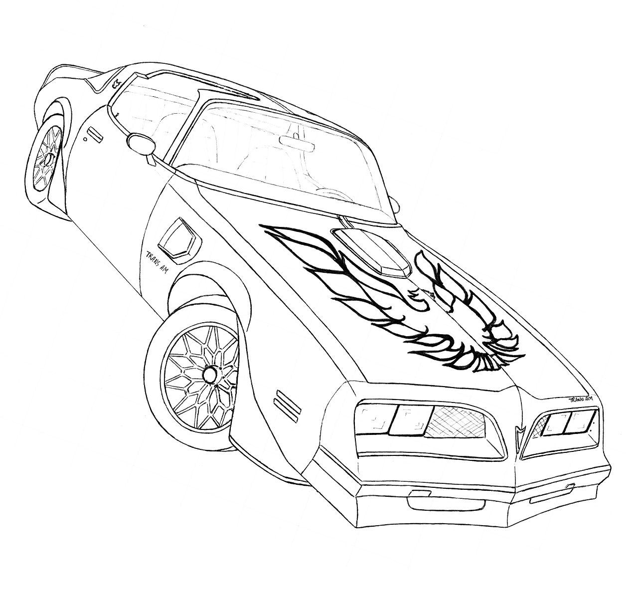 trans am drawing at getdrawings com