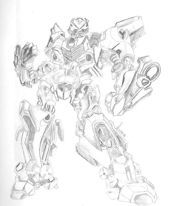 579x702 Drawn Bumblebee Transformers 4 Bumblebee