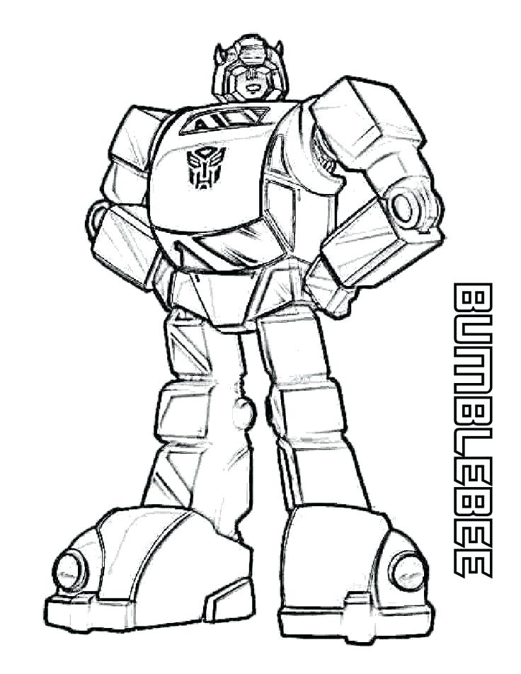 736x952 Transformers Coloring Pages Bumblebee Drawn Bumblebee Transformer