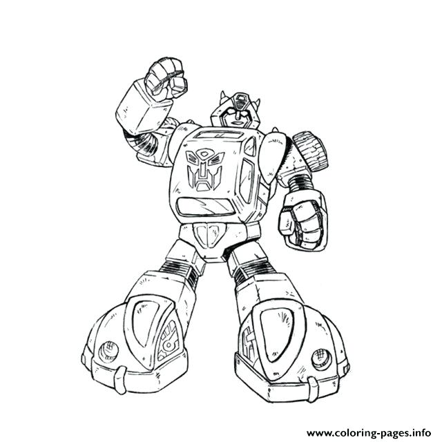 640x640 Bumblebee Coloring Page Transformers Bumblebee Coloring Pages