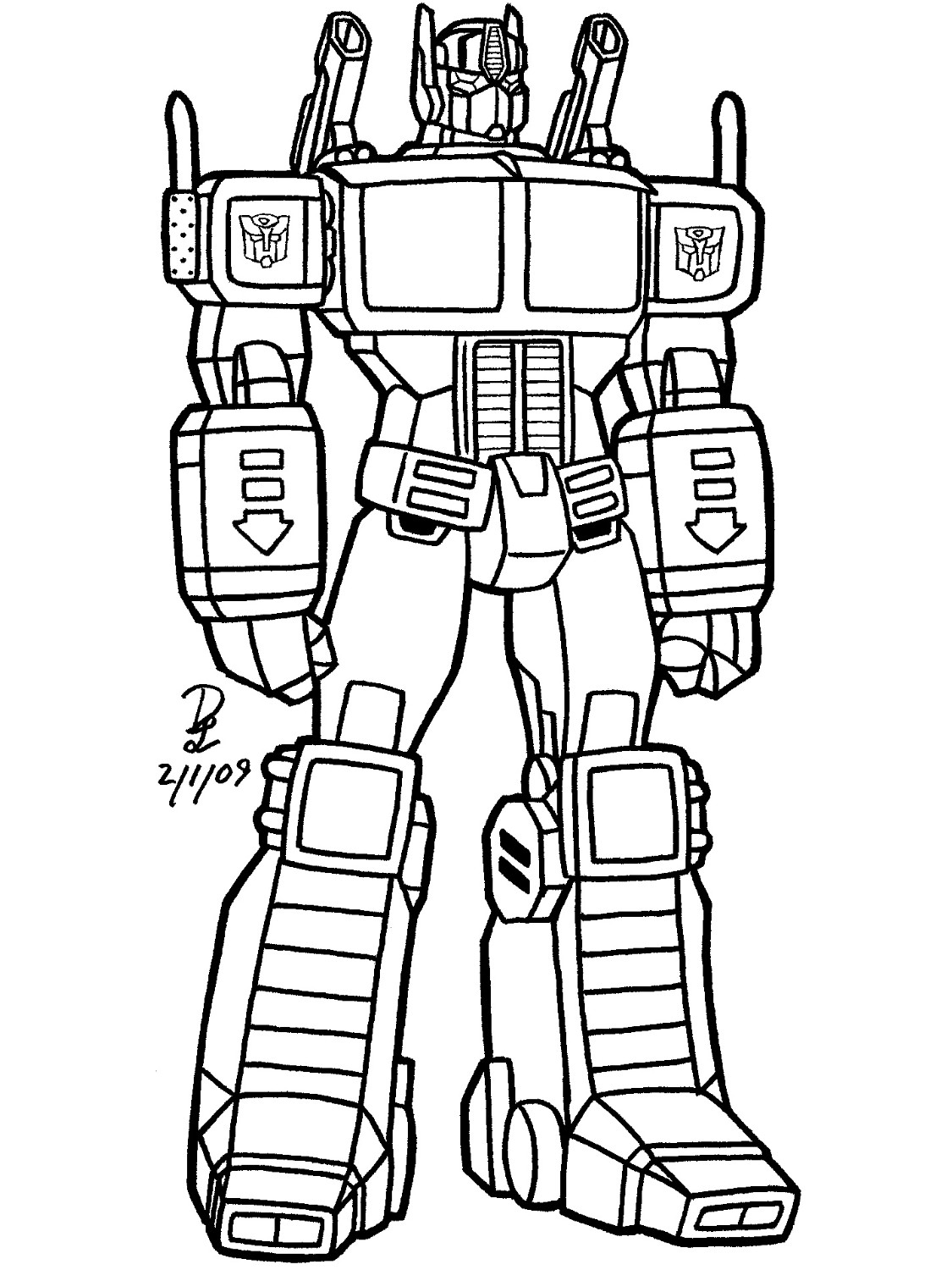 Transformer Drawing at GetDrawings.com | Free for personal use ...