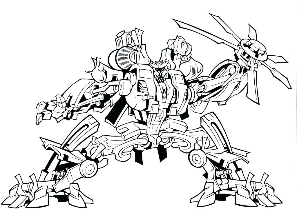 1024x735 Transformer Coloring Pages Cool And Opulent Transformers Prime