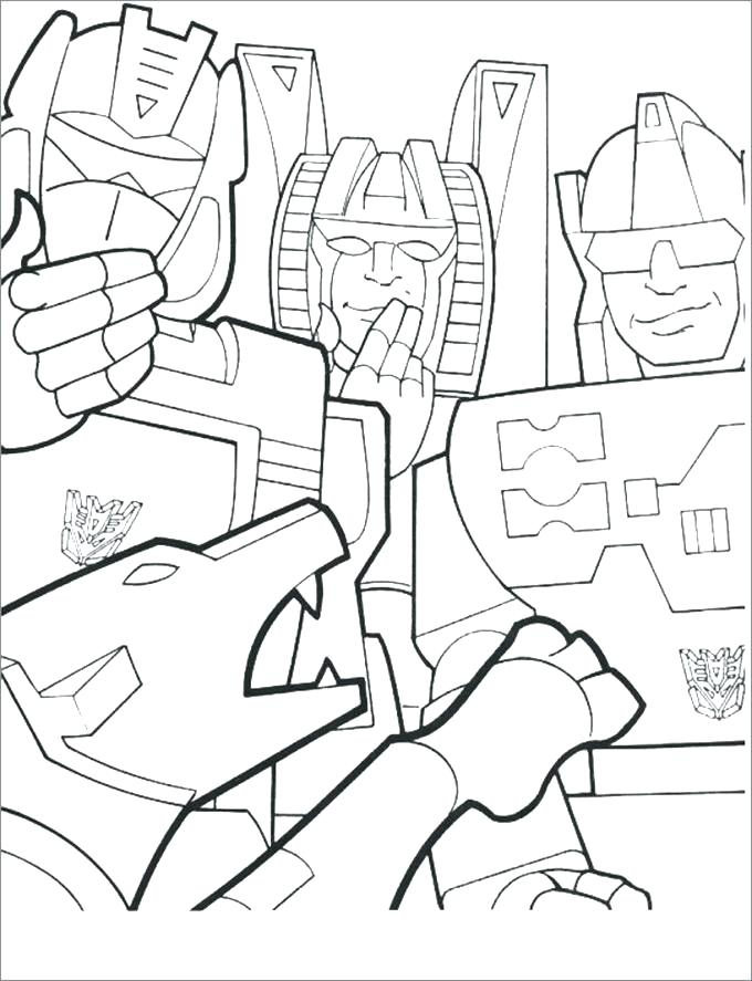 680x887 Transformer Coloring Pages Free Drawing Page Online Transformers